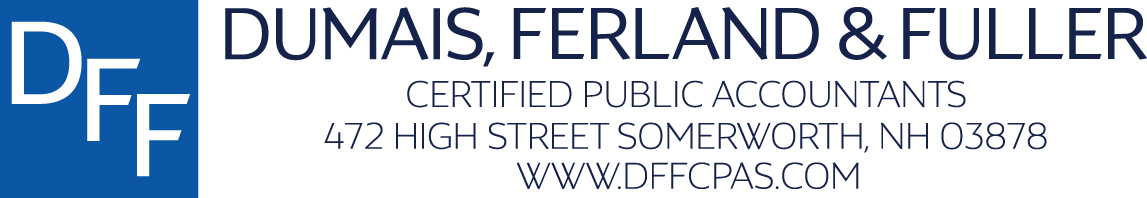 Welcome to Dumais, Ferland & Fuller CPAs LLC