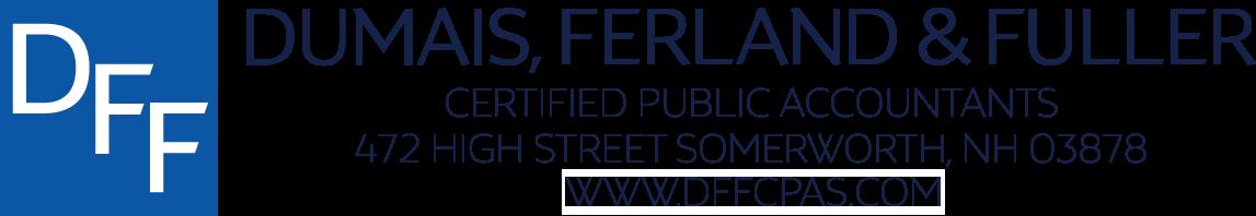 Welcome to Dumais, Ferland & Fuller CPAs LLC